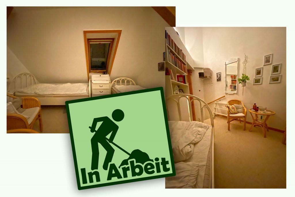 """Doppelzimmer """"Agatha Christie"""" (in Arbeit, Hercule ist noch nicht zufrieden)"""